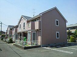 神奈川県平塚市東真土3丁目の賃貸アパートの外観