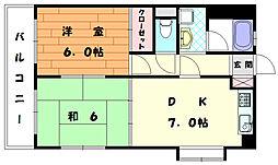 吉村ビル[4階]の間取り