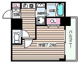 サンライト吉野[2階]の間取り