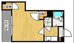 第1サンピア[2階]の間取り