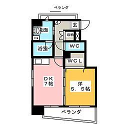 FILL PROVIDENCE[4階]の間取り