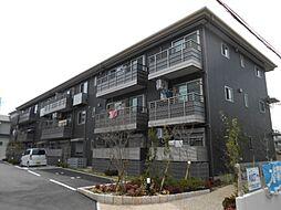 京都府京都市山科区大宅古海道町の賃貸マンションの外観