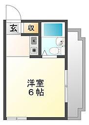 ロイヤルメゾン甲子園七番町[2階]の間取り