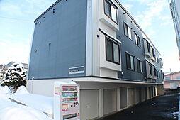 北海道札幌市白石区平和通8丁目北の賃貸アパートの外観