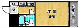 M'PLAZA津田駅前[2階]の間取り