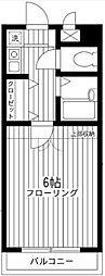神奈川県川崎市多摩区枡形5の賃貸マンションの間取り