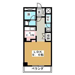 ベターアール05[2階]の間取り