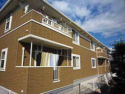 愛知県岡崎市若松町字南之切の賃貸アパートの外観