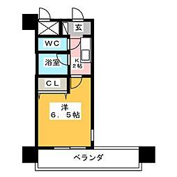 ステイタスマンション大橋[11階]の間取り