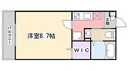 AJ津田沼III[205号室]の間取り