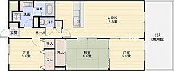 グラデュール[1階]の間取り