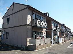 滋賀県東近江市八日市清水3丁目の賃貸アパートの外観