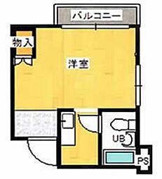 ヒルクレスト岡本[2階]の間取り