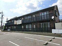 愛知県あま市甚目寺桜田の賃貸アパートの外観