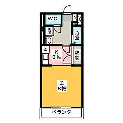 セピア237[2階]の間取り