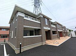 千葉県大網白里市みずほ台3の賃貸アパートの外観