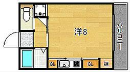 ルミナーレ春日[3階]の間取り