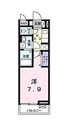 アニメート松葉[3階]の間取り