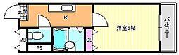 カーサ照ヶ丘5[4階]の間取り