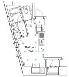 アパートメンツ銀座東[11階]の間取り