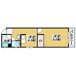 第一大朋マンション[3階]の間取り