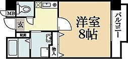 レジデンス21[2階]の間取り