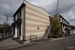 広島県福山市大門町野々浜の賃貸アパートの外観
