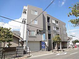 大阪府羽曳野市はびきの4丁目の賃貸マンションの外観