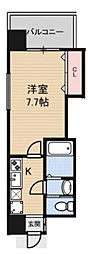 Luxe新大阪II[10階]の間取り