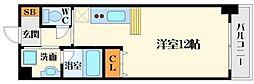 ニッケノーブルハイツ江坂[7階]の間取り