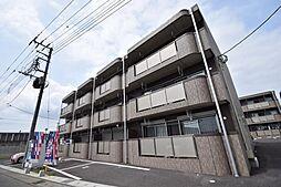 栃木県宇都宮市茂原2丁目の賃貸マンションの外観