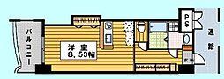 ロイヤルリバービュー143[8階]の間取り