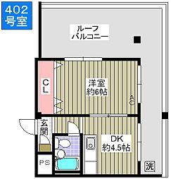 AZ26[4階]の間取り