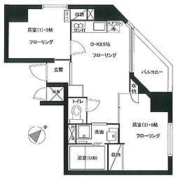 セイコーガーデンXI大塚[10階]の間取り