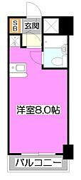 センチュリ−上福岡[8階]の間取り