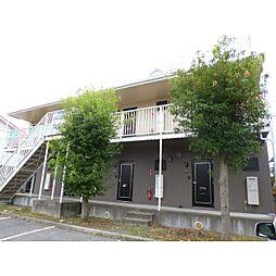 長野県松本市平田東3丁目の賃貸アパートの外観