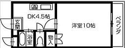 アーバンシャローム[3階]の間取り