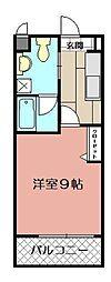 ギャラン吉野町[1007号室]の間取り