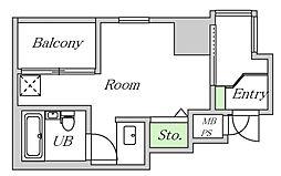 ライオンズマンション上六第3[501号室]の間取り
