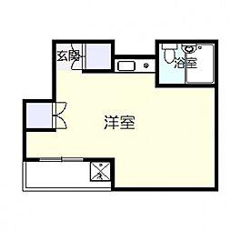 ロザブル熊谷[402号室号室]の間取り