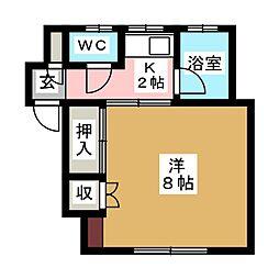 上杉ハイホーム[1階]の間取り