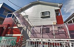 ピークハイムB[1階]の外観
