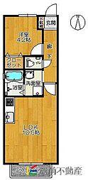 ロワイヤルIII[2階]の間取り