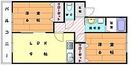 梅ノ木ハイツ[1階]の間取り