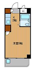 神奈川県川崎市川崎区新川通の賃貸マンションの間取り
