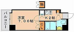 サヴォイレジェント[12階]の間取り
