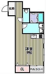 ACTIVE宿屋町[1階]の間取り