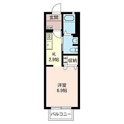 Gran Testa II[2階]の間取り