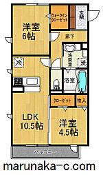 Sunny House[3階]の間取り