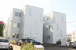 北海道札幌市中央区北八条西18丁目の賃貸マンションの外観